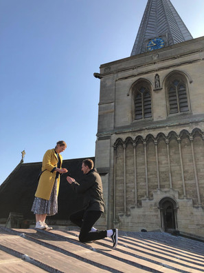 Cathedral Engagement