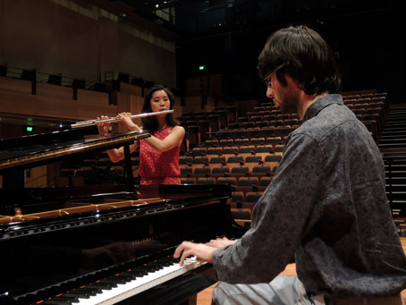 Warmups and ideas for collaborative performers - tried and tested with love, from our duo