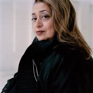 Dame Zaha Hadid, legendary architect.