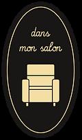 icone d'un fauteuil de relaxation pour passer dans mon salon
