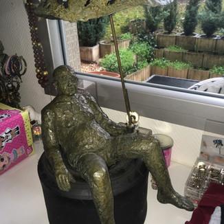 Bronze de Michaël fait par artiste coiffeur ...