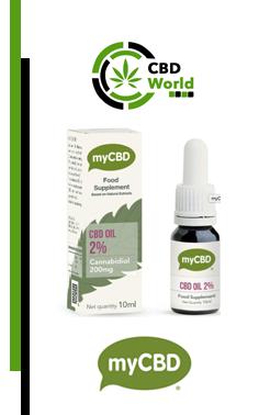 2% (200 mg) CBD Öl