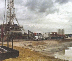 Oil Rig Cleanout