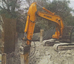 Hammering Pit for Utilities