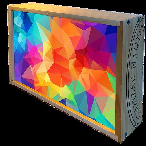 Polygone multicolore