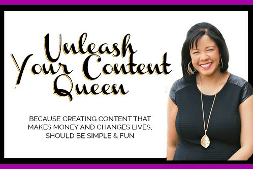 The Content Creation Queen