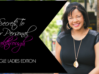 4 Secrets To Your Personal Breakthrough!