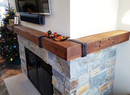 Non-Combustible Mantels to Give your Home a New Look & Function!
