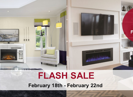 Flash Sale: 10% Off Electric Fireplaces