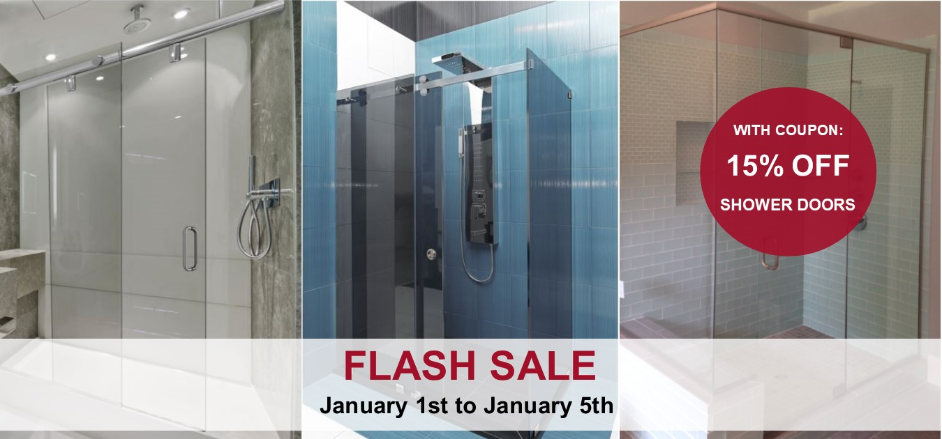 Flash Sale: 15% Off Shower Doors | Appliances | St. Charles | C ...