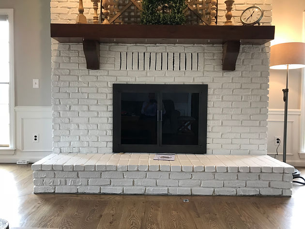 Er And Easier Than Installing A Whole New Fireplace Magnetic Fronts Are For You Can Change The Look In Your Home With Ease
