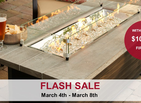 Flash Sale: $100 Off Fire Pits