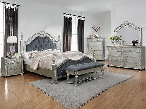 B7660 Sterling Bedroom Suite 7pc Queen Set