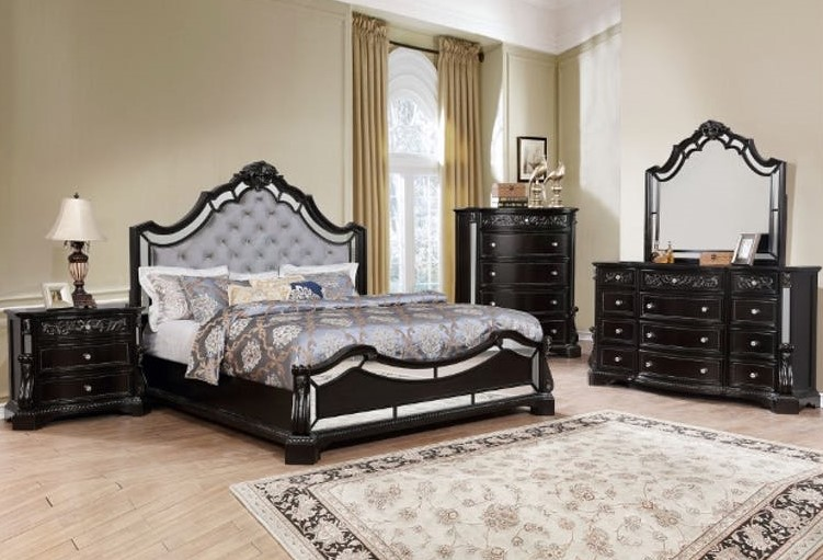 Black Bedroom Set in Laredo