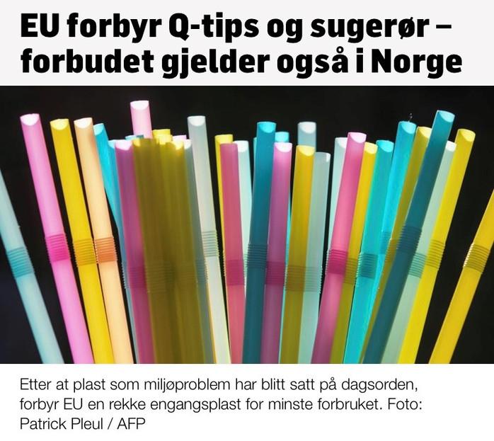 21. desember: EUs plastvedtak
