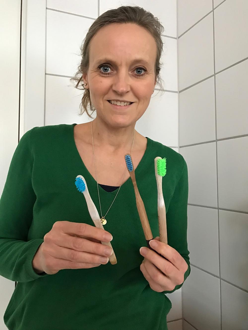 Tannkoster av bambus kan du kjøpe hos beeorganic.no.