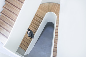 Modern Timber Stairs
