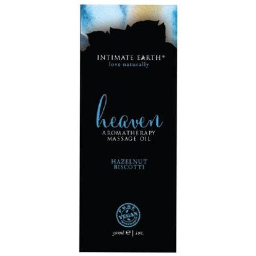 Intimate Earth Massage Oil 30ml/1 oz Foil - Heaven