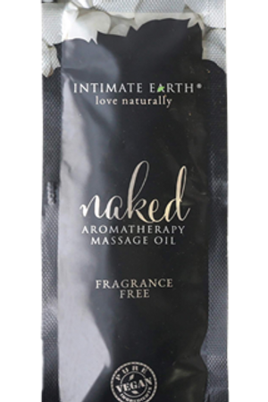 Intimate Earth Massage Oil 30ml/1 oz Foil - Naked