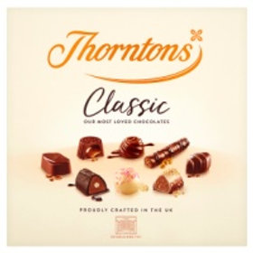 Thorntons Classic Assorted Gift Box Chocolates 262g