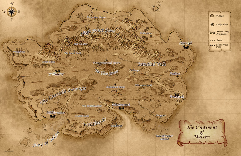 The Continent of Malzen