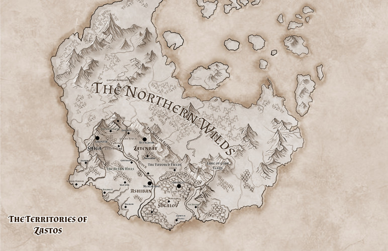 The Territories of Zastos