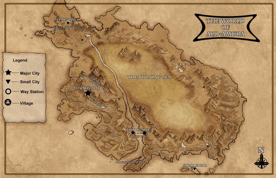 Ald-Amura Map