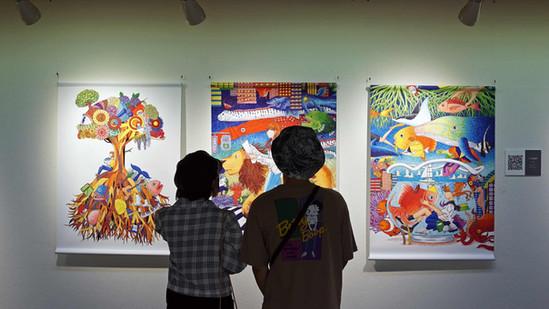 藤森愛10周年記念作品展「人生如夢