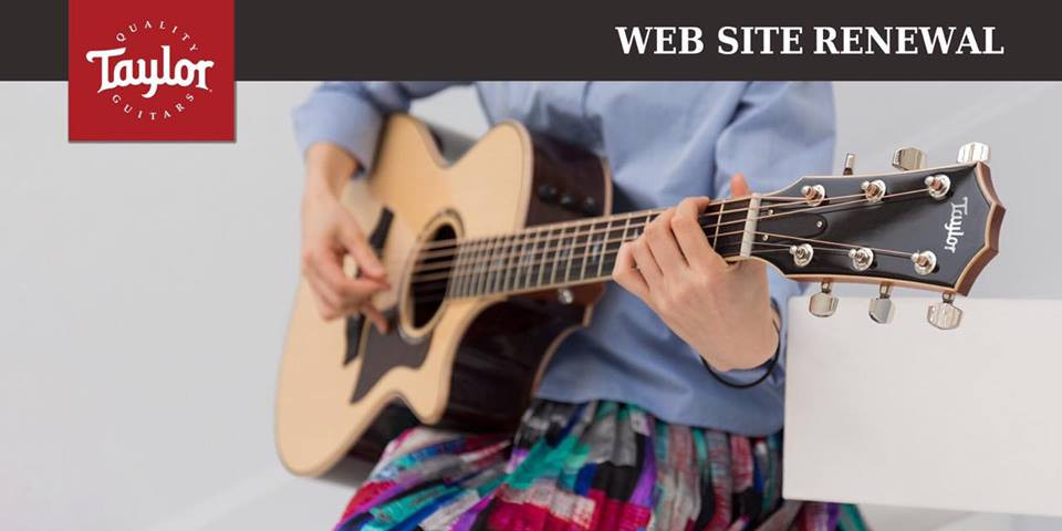 Taylor Guitars Japan Website