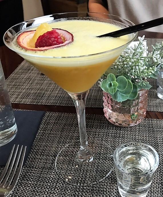 Pornstart Martini cocktail
