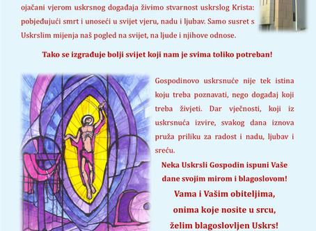 Uskrs na Pantovčaku