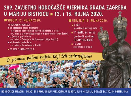 289. zavjetno hodočašće vjernika grada Zagreba