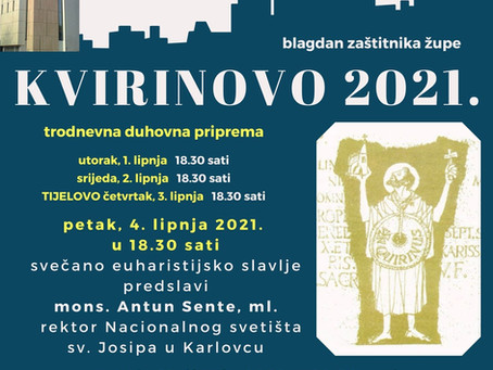 Kvirinovo 2021.