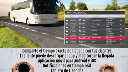 ETA - Comparte la hora exacta de llegada