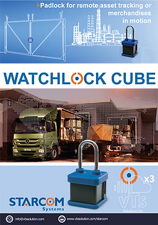WatchLockis a smart reporting lock, providing you both security and peace of mind of you most valuable cargo & assets.