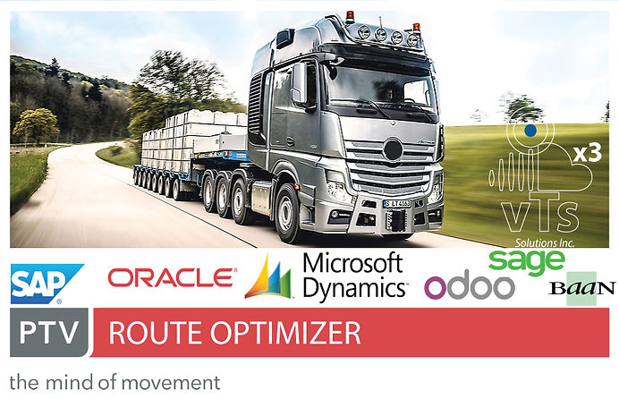 Route Optimizer and ERPs integration, Route Planning and ERPs integration, SAP S4/HANA, C4/HANA