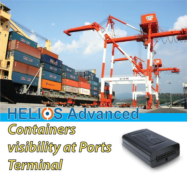 HELIOS ADVANCED, Starcom Systems, Cellular Connectivity, 2G, 3G, 4G,Ports, Ports Terminal, Container Visibility, GPS, Container+Port Terminal, Fleet+Port Terminal,  Fleet Management+Ports Terminal, GPS, Telematic Programming, Events Programming, Cellular Communication, 2G, 3G, 4G, GPS for Truck GPS for Heavy Truck, Gas Consumption, Gas Consumption Monitoring, Engine Monitoring, Remote Start Engine, Emergency Button, Control Center Software, Mobile App, Cloud Data, Real-Time Communication, Communication with vehicle, Alerts Automation, Events Programming, Data encrypted.