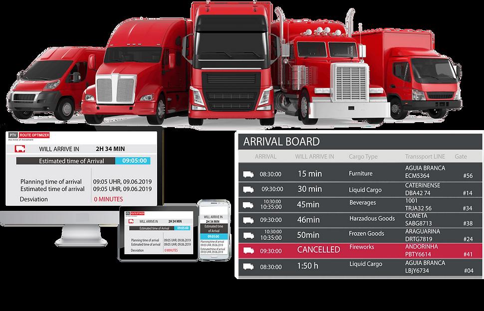 PTV Drive & Arrive, PTV Driver App, ETA, Estimated Time of Arrival, ETA integration with SAP, Real-Tme ETA, ETA for Distribution Center, ETA for Customer Delivery, ETA for SAP ERP, ETA for SAP TMS, ETA for SAP S/4HANA