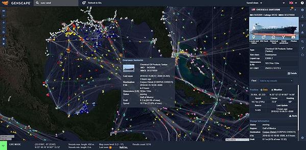 Vessel Tracker Cockpit, AIS Satellite Vessel Tracker, AIS Terrestrial Vessel Tracker, Vessel tracker, AIS Satellite and Terrestrial, AIS, Real-time Vessel Tracker