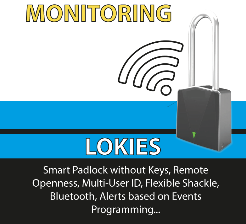 Lokies, Starcom, Security, Mobile Security, GPS, GPS Tracker, GPS Container Padlock, GPS Container Lock, GPS Lock, Keyless Padlock, Satellite GPS Padlock, Remote Openness Padlock, Electronic Padlock, Electronic Seal, Padlock with Flexible Shackle, Intelligent Padlock, Remote Openness Padlock, App lock, smart app lock, 360 security, Mobile Apps, Monitor Center, Smart Padlock without Keys, Unique Identifier, Unlock Padlock Remotely, Flxible Shackle with sensors detects cut and report instantly, Bluetooth, Battery BLE, Online support, Remote Cargo TrackingLokies, Starcom, Security, Mobile Security, GPS, GPS Tracker, GPS Container Padlock, GPS Container Lock, GPS Lock, Keyless Padlock, Satellite GPS Padlock, Remote Openness Padlock, Electronic Padlock, Electronic Seal, Padlock with Flexible Shackle, Intelligent Padlock, Remote Openness Padlock, App lock, smart app lock, 360 security, Mobile Apps, Monitor Center, Smart Padlock without Keys, Unique Identifier, Unlock Padlock Remotely, Flxible Shackle with sensors detects cut and report instantly, Bluetooth, Battery BLE, Online support, Remote Cargo Tracking