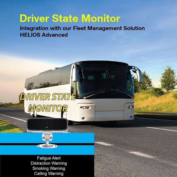Driver State Monitor, Fatigue Alert  Distraction Warning  Smoking Alert  Calling Warning  Driver ID recognition  Power ON Self Test  Driver abnormal warning