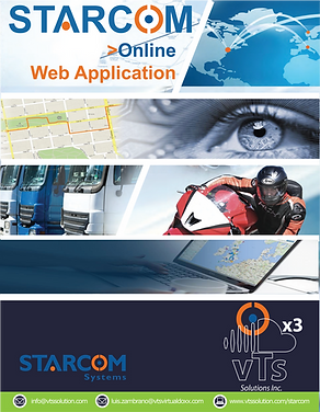 Online Web Application for Tracking, Monitoring & Alerts