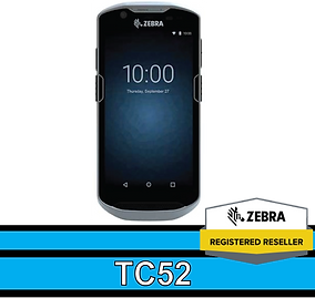 TC52 Android Touch Computer, Android 8.1 Oreo,1D and 2D barcodes, Advanced scanning technology &PRZM