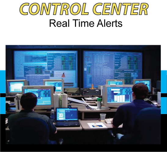 Remote Control Center for Tracking, Monitoring & Alerts