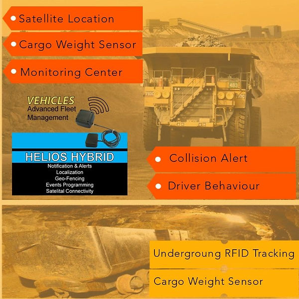 GPS, Global GPS, Satellite Conexion, Driver Behavior, Fleet Management, 3G, 4G, Mining, Collision Alert, GPS Location, Monitoring Center, Fleet Management+Mining, Mining Truck, Fuel Consumption Monitoring, Fuel Consumption Monitoring+Mining, Loss Prevention Control,