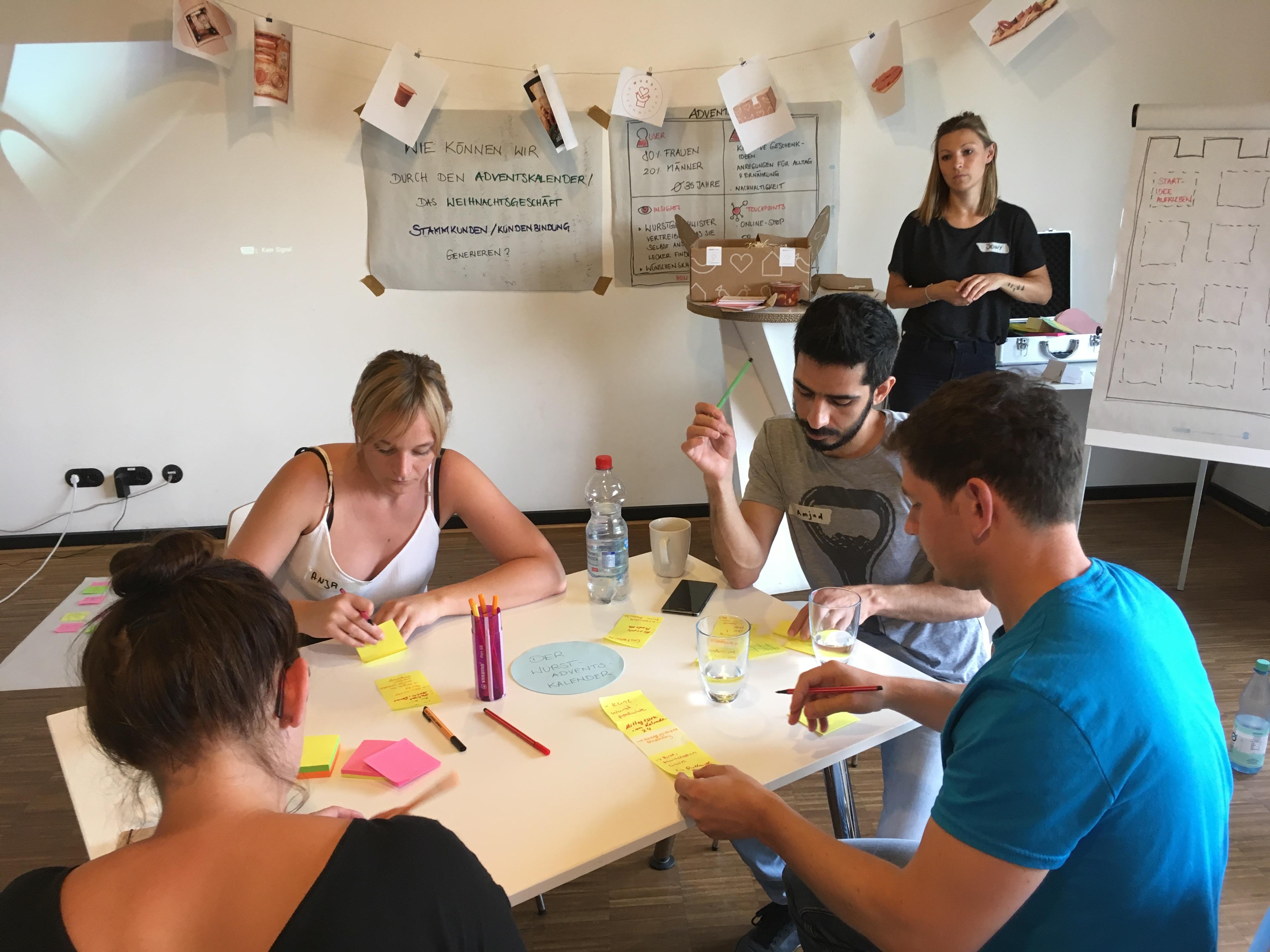 Ideen-Workshop für Wurstgeschwister