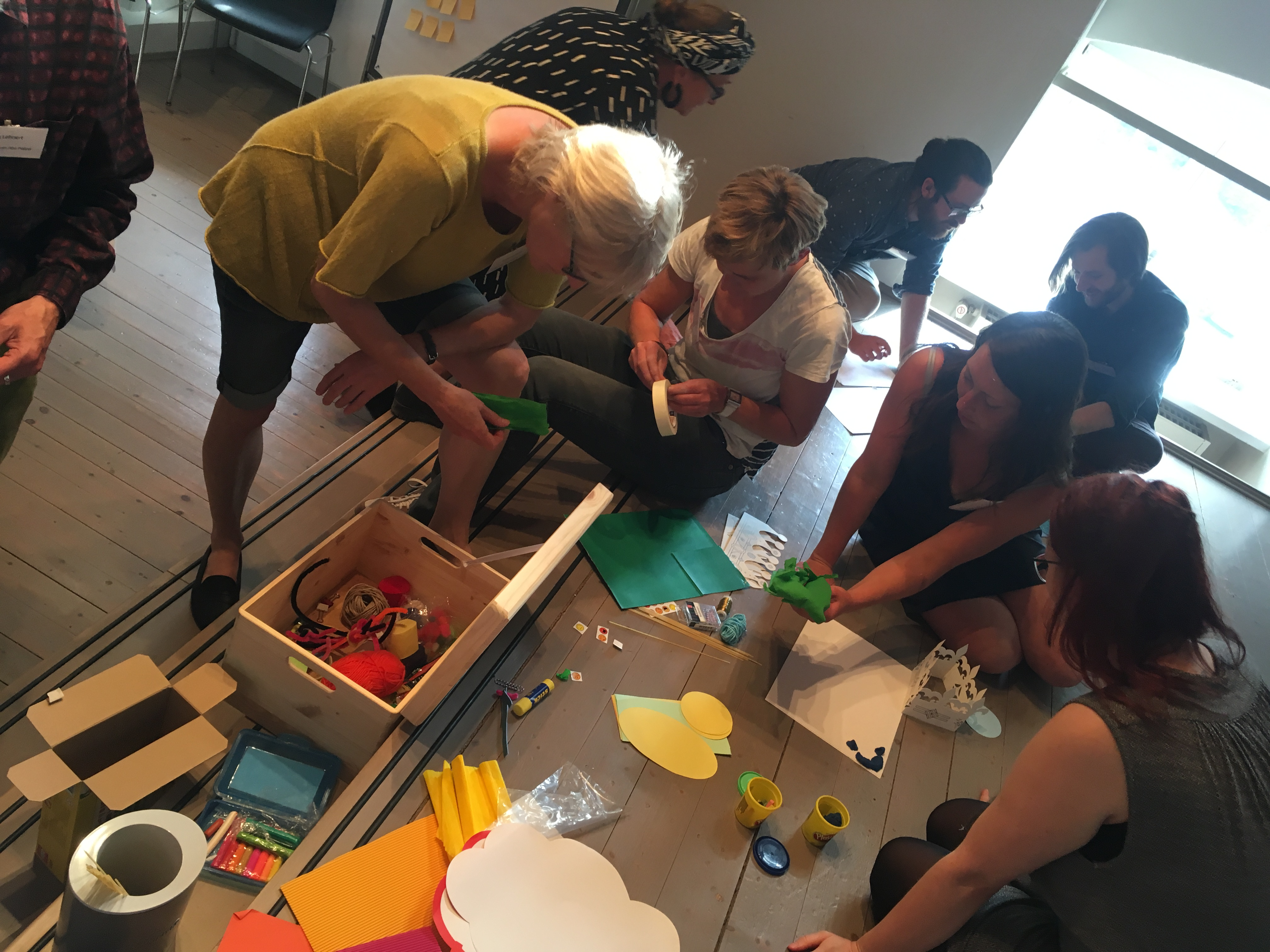 Design Thinking für Stiftung