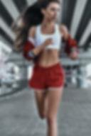 Mädchen Lauf