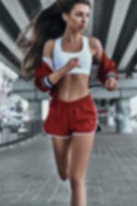 Meisje Running