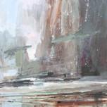 Freyr  12x12 acrylic on panel  £570 Padstow Gallery